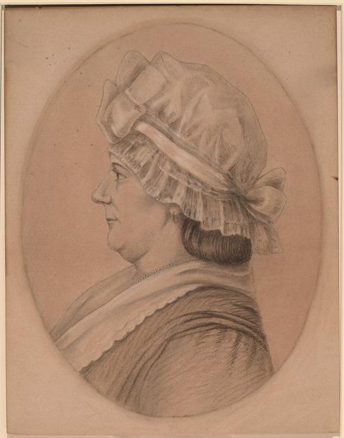 after Charles-Balthazar-Julien-Févret de Saint-Mémin, 'Mrs. Daniel (Elizabeth Marius) Kemper', National Gallery of Art, Washington, D.C.
