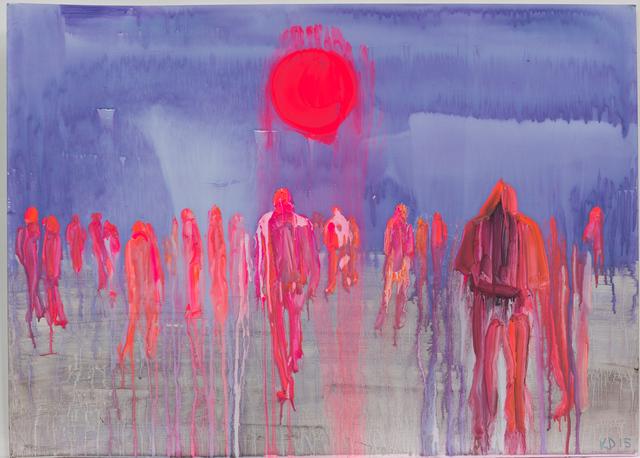 , 'Blood Moon,' 2015, Galerie Antoine Ertaskiran