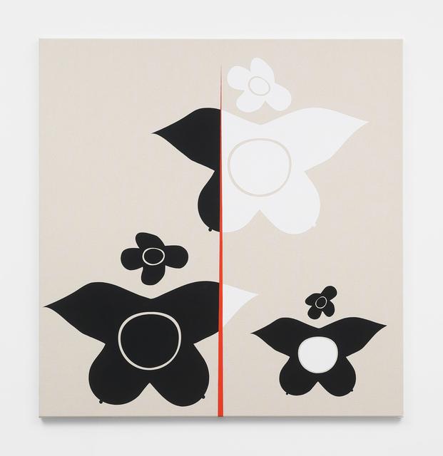 Math Bass, 'Newz!', 2019, Painting, Gouache on canvas, Various Small Fires