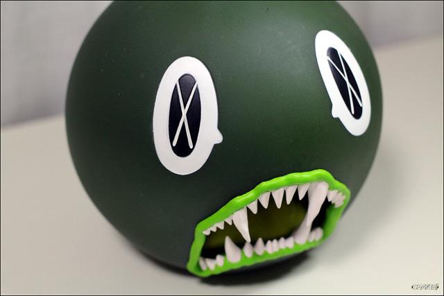 KAWS, 'Cat Teeth Bank (Green)', 2007, MSP Modern