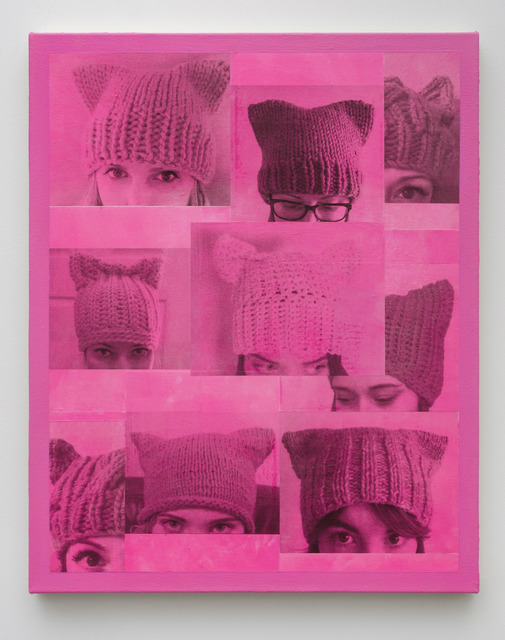 , 'Democracy (Pussyhat),' 2017, Edward Cella Art and Architecture