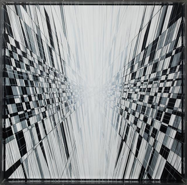 , 'Evanescing lines burst,' 2016, Matthew Liu Fine Arts