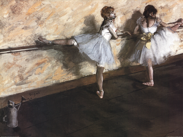 , 'Dancers Practicing at the Barre,' ca. 2000, ArtWise