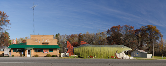 , 'Big Fish Supper Club; Bena, Minnesota,' 2013, Clark Gallery