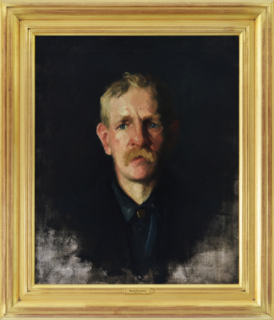 , 'Portrait of a Blonde Man,' , Eisele Fine Art