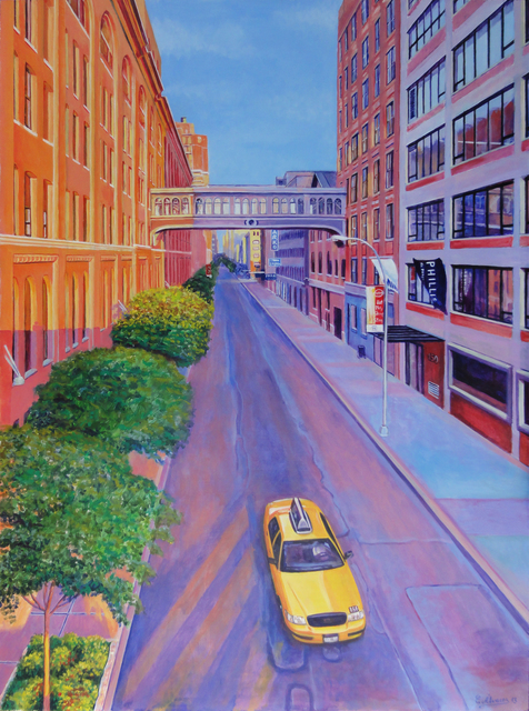 , 'Chelsea from the High Line,' 2013, STOA