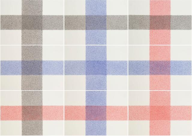 , 'Nine crosses,' 2012, Nogueras Blanchard