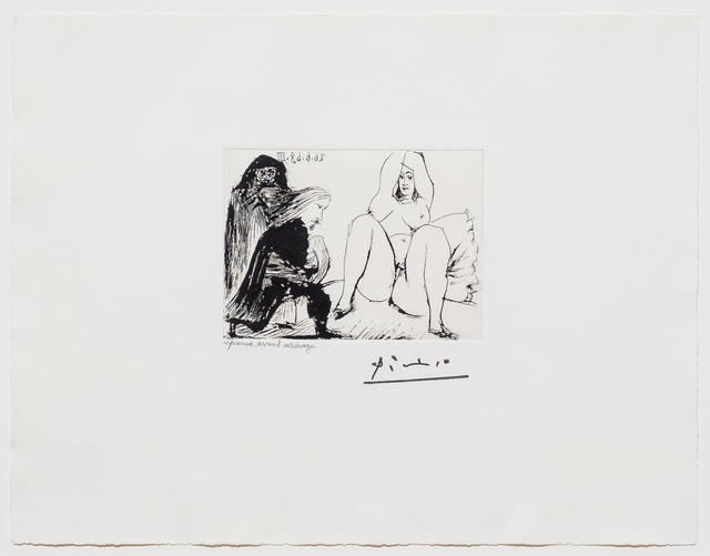 Pablo Picasso, 'La Celestine... from the 347 series', 1968, Leslie Sacks Gallery