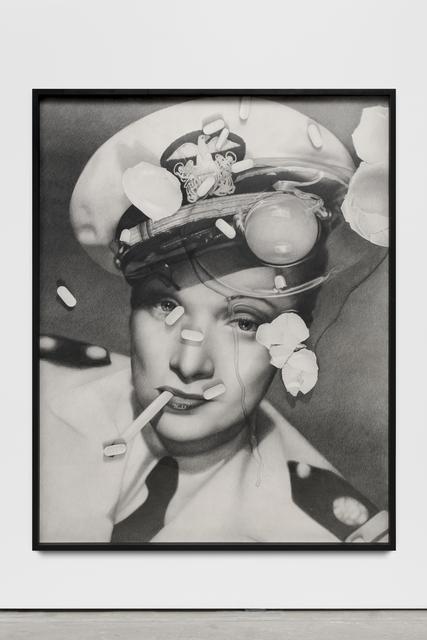 , 'Marlene Dietrich (with cracked egg and Zoloft),' 2017, Wentrup