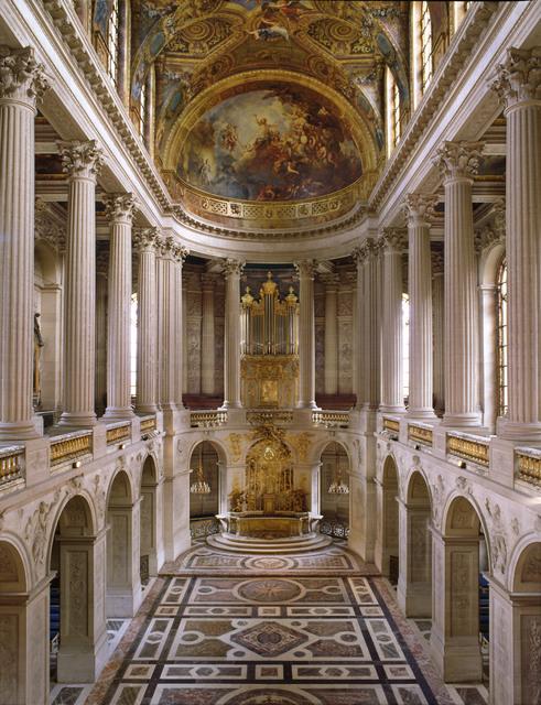 , 'The Royal Chapel,' 1699, Château de Versailles
