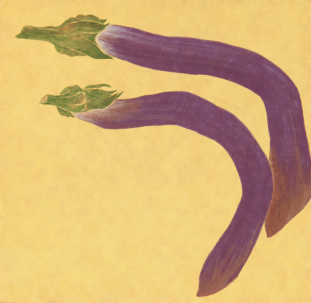 , 'Daily Collecting- Eggplants ,' 2015, Mind Set Art Center