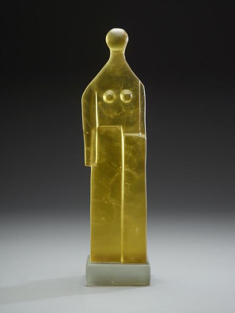, 'Yellow Standing Figure,' 2017, Ken Saunders Gallery