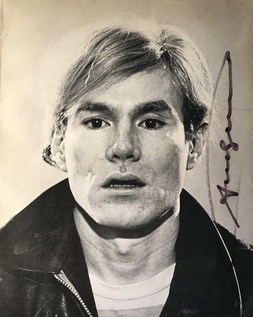 Andy Warhol, 'NY Graphic Society Exhibition Catalogue Cover, 1970, SIGNED', 1970, VINCE fine arts/ephemera