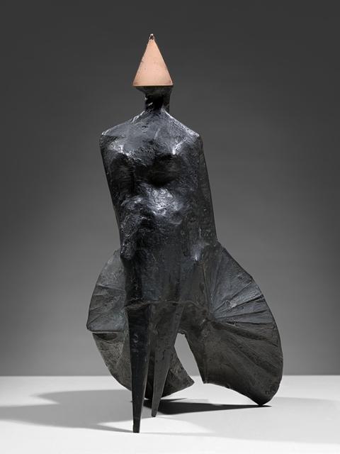 , 'Maquette II Walking Woman,' , Osborne Samuel