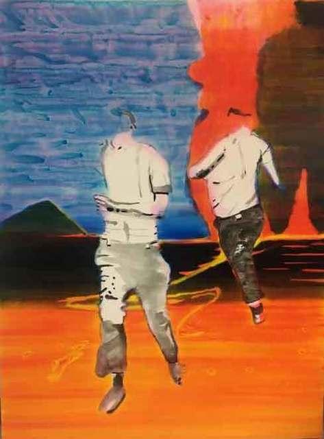 , 'Departure,' 2018, Galleri Bo Bjerggaard