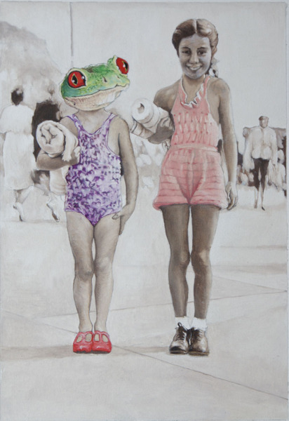 , 'My sister can swim like a frog,' 2016, Wally Workman Gallery