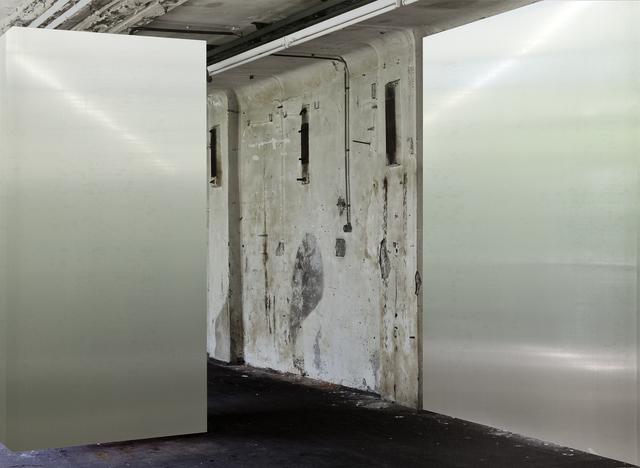 , 'SPIECE 1 (Bildrauminstallation #2),' 2013, Raum mit Licht