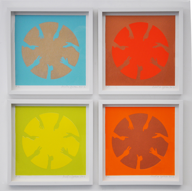 , 'Circle of Hands Quad I,' 2013, Candida Stevens