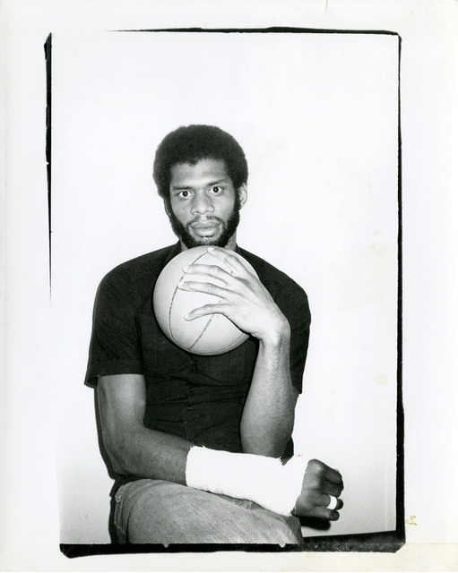 , 'Kareem Abdul-Jabar,' 1977, Gagosian