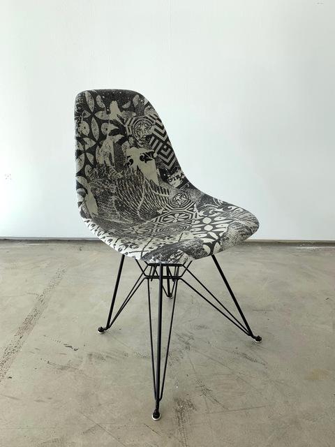 Shepard Fairey, 'Shepard Fairey Case Study® Side Shell Eiffel Chair', GCA Gallery