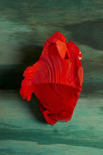 , 'Red Cotisso, Green Pigment, Wood in Arìn,' 2019, Flowers