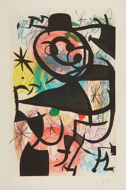 Joan Miró, 'Le Pitre rose (Pink Clown)', 1974, Phillips