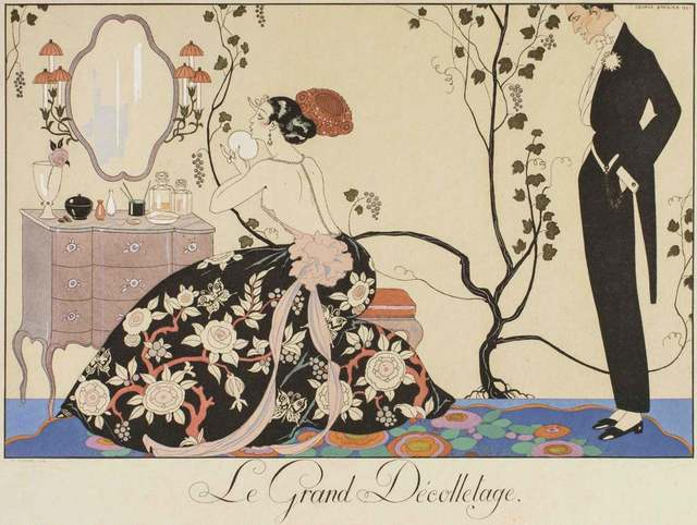 Georges Barbier, 'Le Grand décolletage', 1924, Wallector