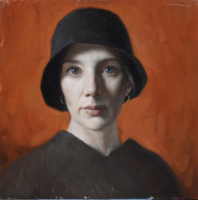 , 'Self Portrait with Black Hat,' , Vanessa Rothe Fine Art