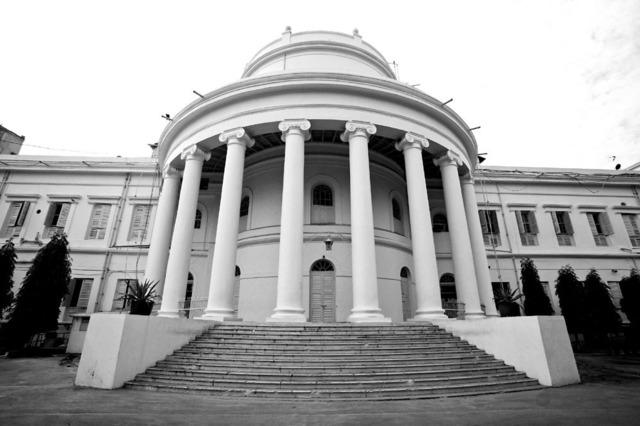 , ''La Martiniere school', Colonial splendor, Calcutta,' 2013, Sundaram Tagore Gallery