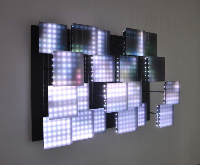 Jim Campbell, 'Untitled (multi-panel Commuters)', 2014, Bryce Wolkowitz Gallery