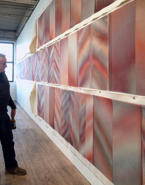 , 'Moire´- Four Color,' 2016, devening projects