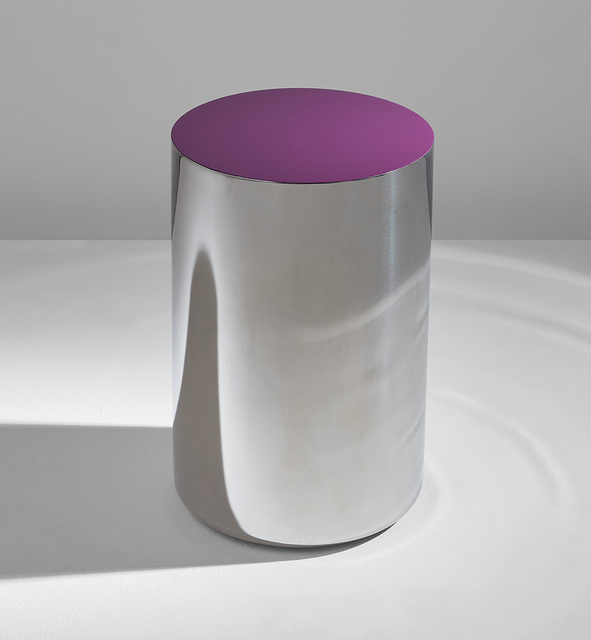 Martin Szekely, 'G.V. side table', 2004, Design/Decorative Art, Lacquered stainless steel, Phillips