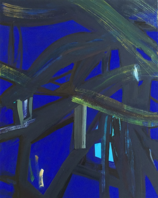 , 'Blue Light,' 2014, Waterhouse & Dodd