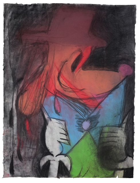 Rhys Lee, 'Untitled#1', 2018, Drawing, Collage or other Work on Paper, Pastel and Charcoal on paper, ALICE Gallery