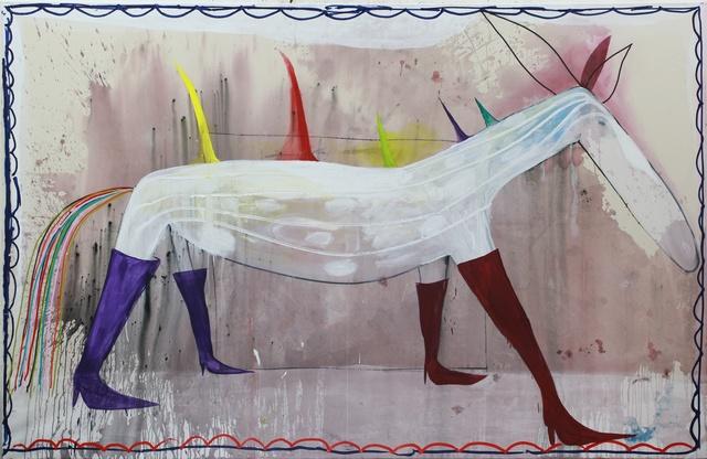 , 'Untitled (out of the horse series),' 2017, Jahn und Jahn