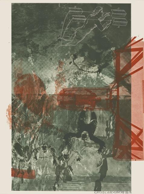 Robert Rauschenberg, 'Bait (Stoned Moon)', 1970, San Francisco Museum of Modern Art (SFMOMA)