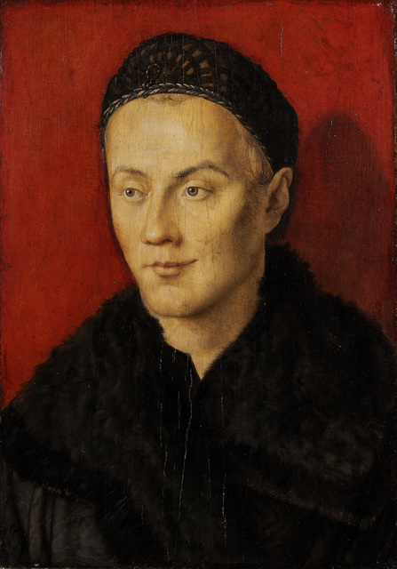 , ' Portrait of a young man,' 1471-1528, Musée du Luxembourg