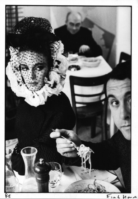 , 'Rome, High Fashion with Deborah Dixon and and Antero Piletti eating spaghetti (A), for Harper's Bazaar,' 1962, GALLERY FIFTY ONE