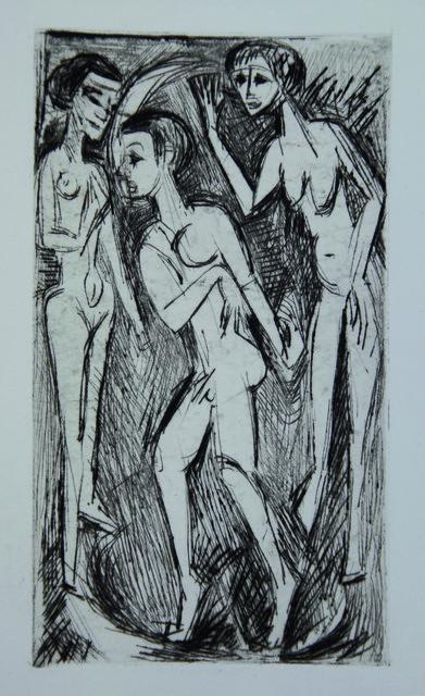 , 'Der Tanz zwischen den Frauen ,' 1919, Henze & Ketterer