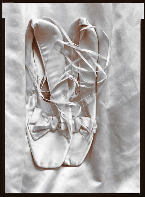 Olivia Parker, 'Miss Appleton's Shoes', 1976, Photography, Selenium Toned Silver Contact, Robert Klein Gallery