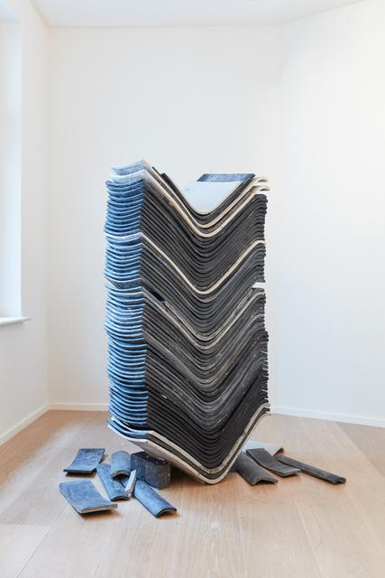 , 'Untitled (stack),' 2017, MLF   MARIE-LAURE FLEISCH