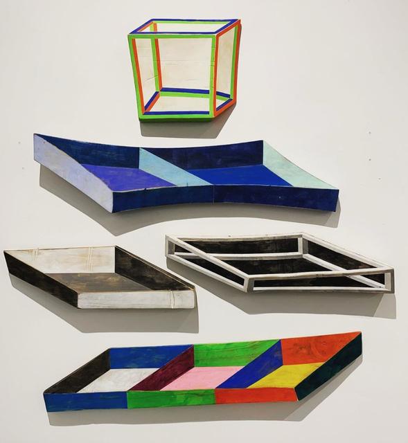 , 'Installation View 5 Pieces,' 2019, Clark Gallery