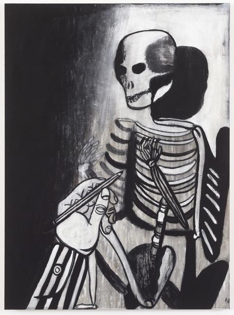 , 'At tegne skelet,' 2016, Galleri Magnus Karlsson