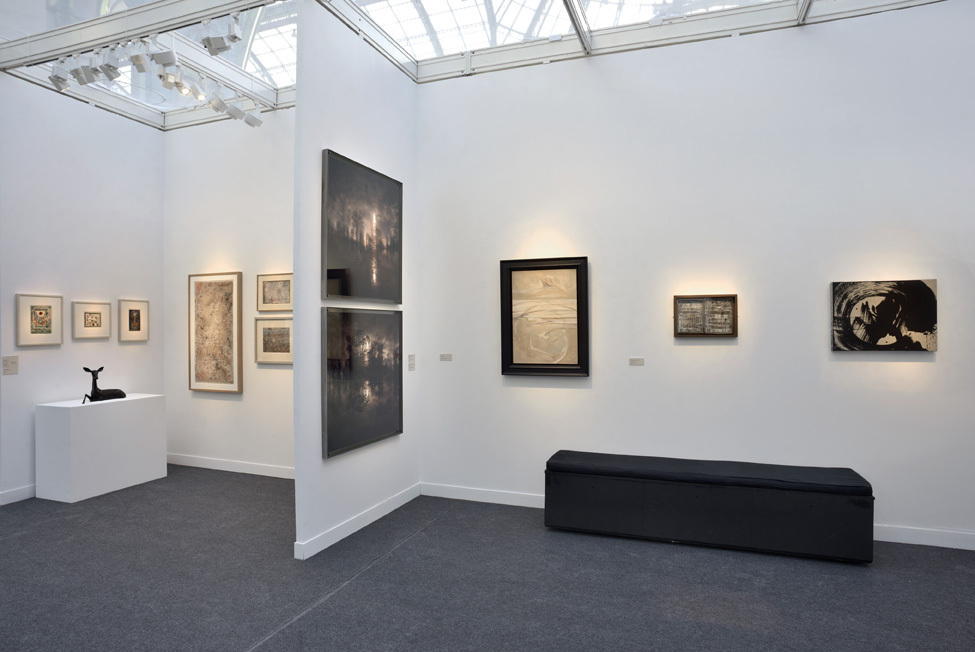 Installation view of Booth E34 © JL Losi
