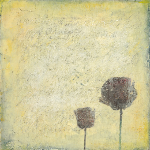 , 'Two Poppies,' , West Branch Gallery