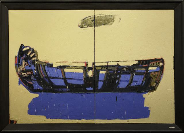 Kjell Nupen, 'Drømmen og stillheten', 1984, Painting, Oil on canvas, Museum Dhondt-Dhaenens