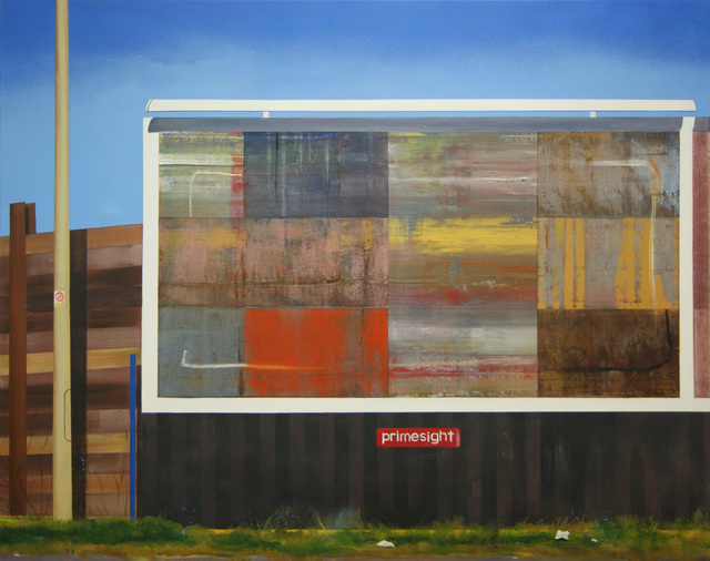 , 'Billboard Painting (West Shore Road),' 2017, Arusha Gallery