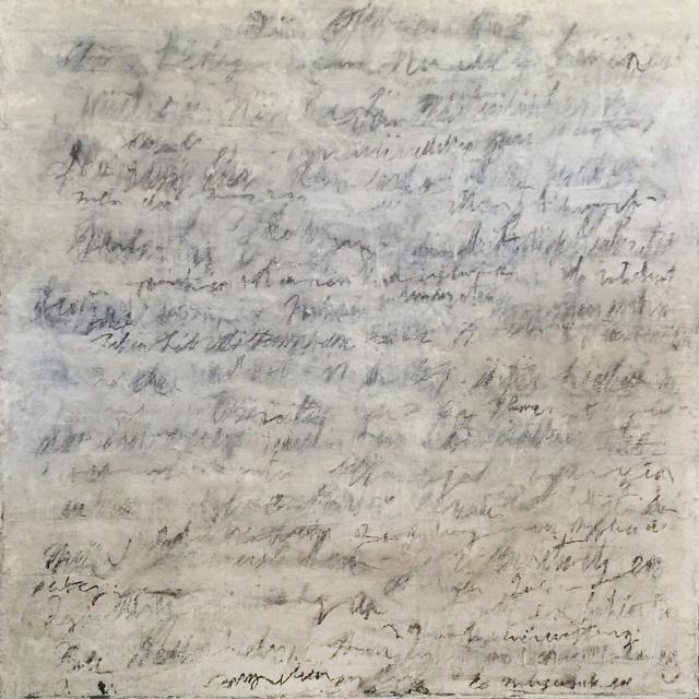 , 'Writings [White],' 2016, InLiquid