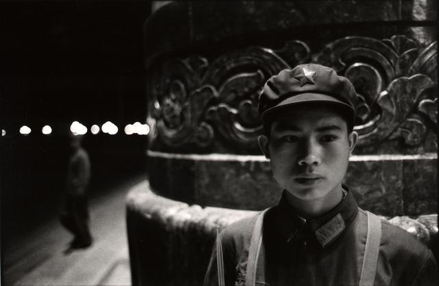 , 'Young soldier, Beijing,' 1971, Atlas Gallery