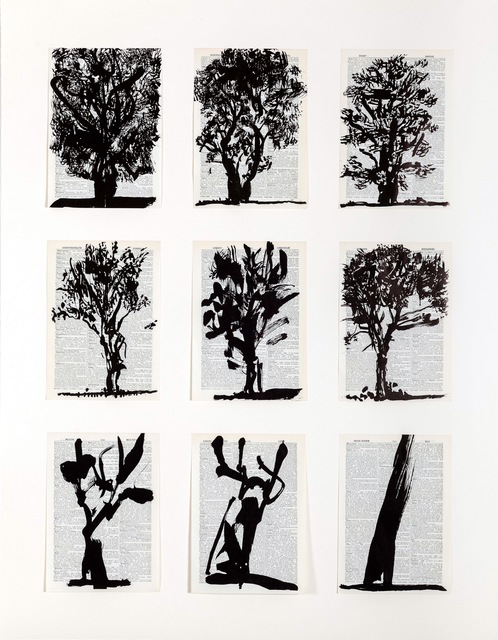 William Kentridge, 'Universal Archive (Nine Trees)', 2012, David Krut Projects